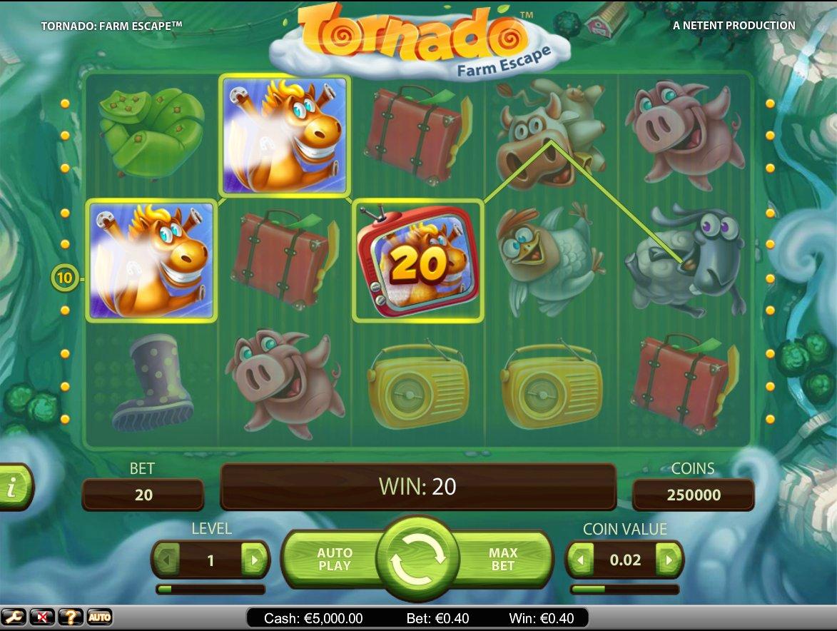 Tornado: Farm Escape Slot Machine