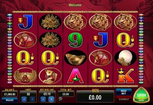 50 Dragons Online Slot Game