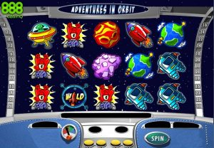 Adventures In Orbit Online Slot Game