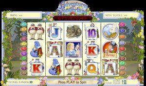 Adventure In Woderland Online Slot Game
