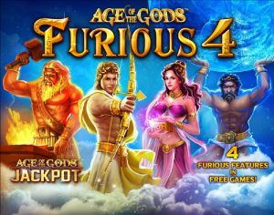 Age of the Gods Furious 4 Free Slot Machine Game