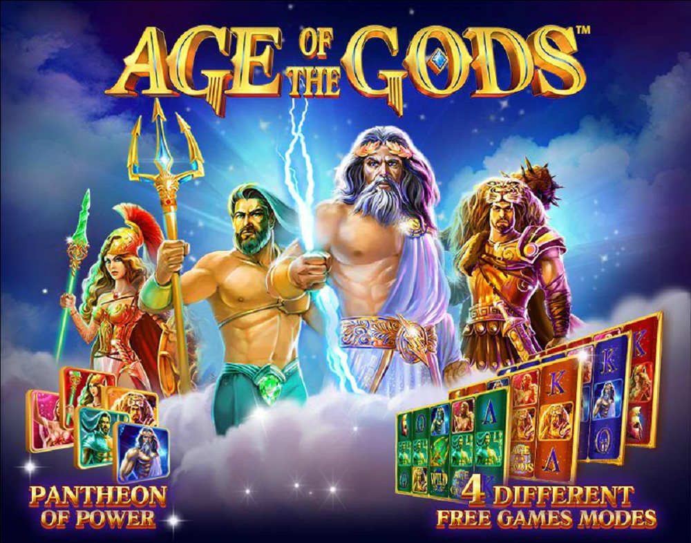 Age of the Gods Slot Machine - Play Online Slots for Free