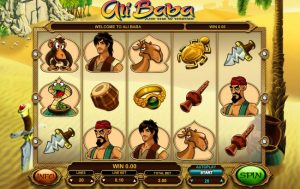 Alibaba and the 40 Thieves Slot