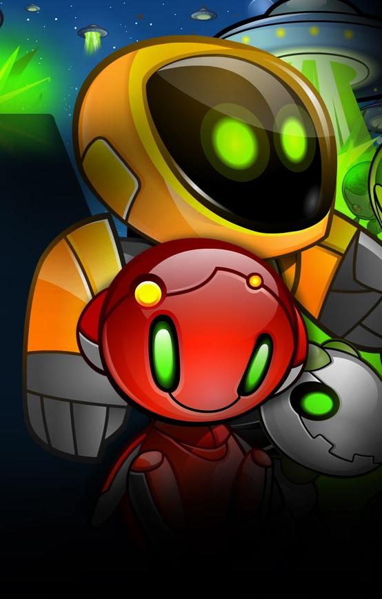 Alien Robots Slot Machine Game