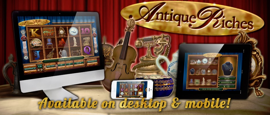 Antique Riches Free Slot Machine Game