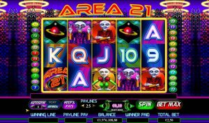 Area 21 I Free Slot Machine Game