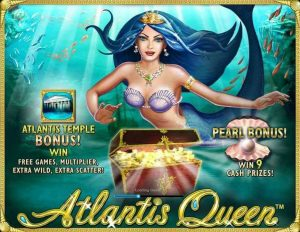Atlantis Queen Slot Machine Game