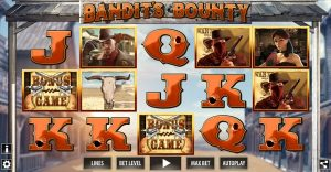 Bandit's Bounty Online Slot Game