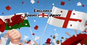 England's Barmy Army Free Slot Game