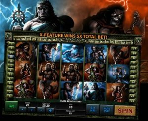 Battle of the Gods Free Fruit Machine Game