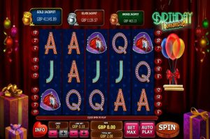 Birthday Bonanza Free Slot Machine Game