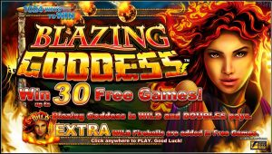 Blazing Goddess Free Slot Machine Game