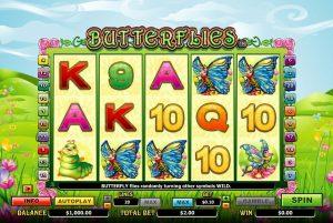 Butterflies Fruit Machine Game