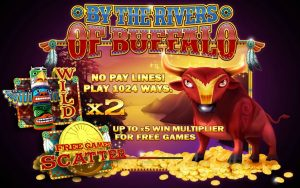 By The Rivers of Buffalo Free Slot Machine Game