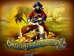 Captain's Treasure Free Slot Machine Game