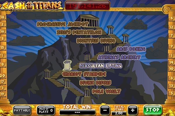 Cash of the Titans Online Slot Game