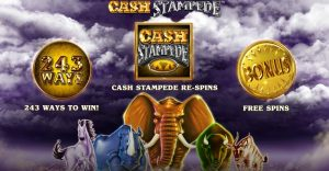 Cash Stampede Slot Game