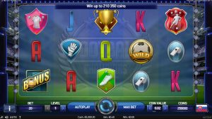 Football Champions Cup Slot Machine Game