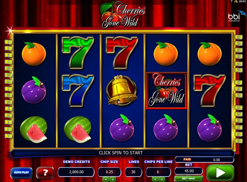 Cherries gone wild slot machine online microgaming host