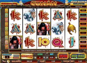Conan Slot Game