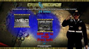 Crime Records Online Slot