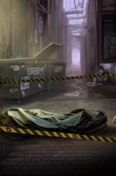 Crime Scene Online Slot Game