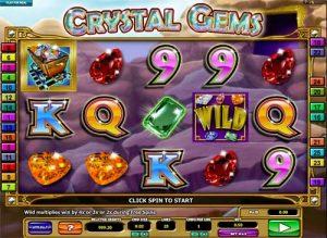 Crystal Gems Free Slot Machine Game
