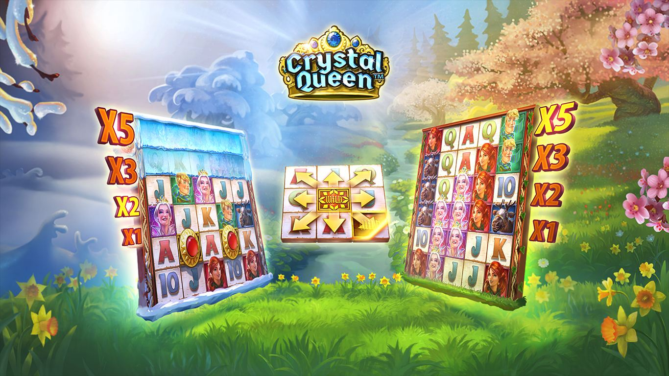 Crystal Queen Online Slot Game