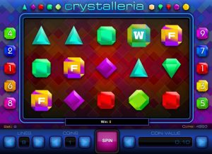 Crystalleria Slot Game