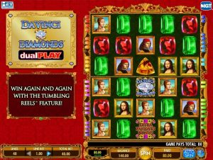 Da Vinci Diamonds Dual Play Online Slot Game