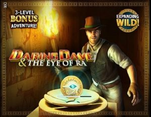 Daring Dave and the Eye of Ra Fruit Machine Game