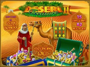 Desert Treasure 2 Online Slot Game