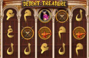 Desert Treasure Online Slot Game