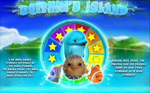 Dolphin's Island Online Slot