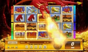 Dracos Fire Fruit Machine Game