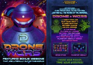 Drone Wars Free Slot Machine Game
