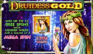 Druidess Gold Free Slot Machine Game