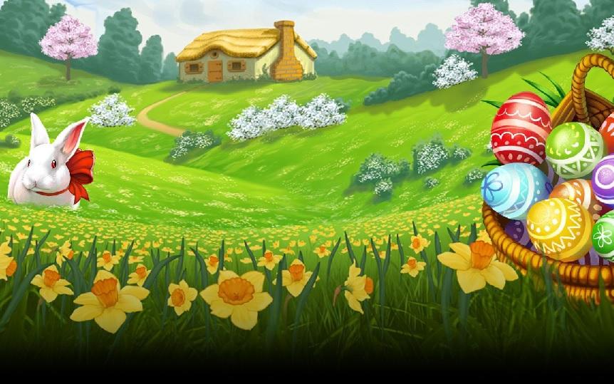 Easter eggs Slot Machine Game