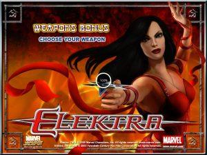 Elektra Fruit Machine Game