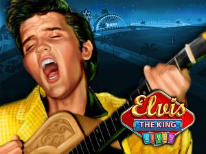 Elvis the King Lives Fruit Machine Game