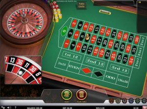 Free Online European Roulette from Play'n go
