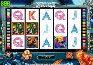 Fantastic Four Online Slot Game