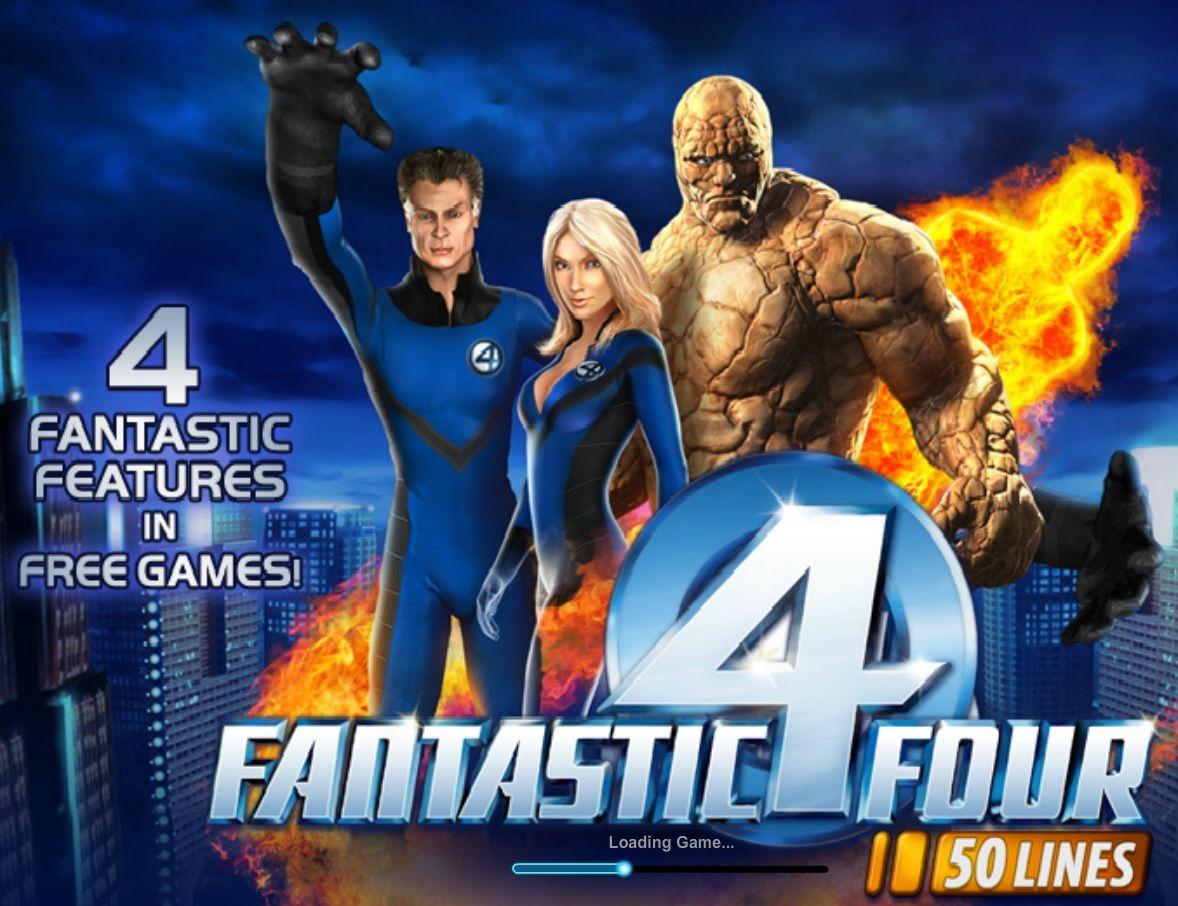 Fantastic Four 50 Lines Slot