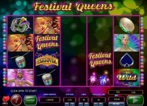 Festival Queens Free Slot Machine Game