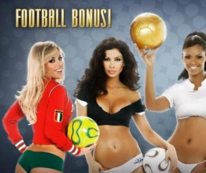Football Girls Slot Machine Game