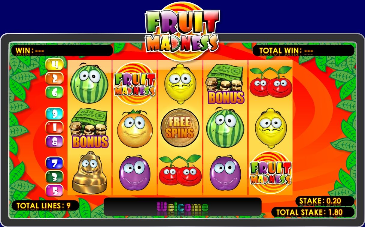 Madness™ Slot Machine Game to Play Free in AshGamings Online Casinos
