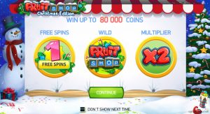 Fruit Shop Christmas Slot Game