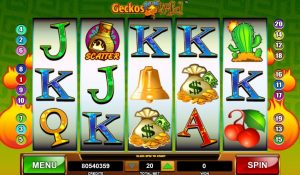 Geckos Gone Wild Free Slot Machine Game