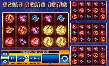 Gems Gems Gems Online Slot Game