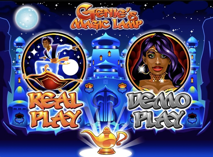 Genies Magic Lamp Free Slot Machine Game